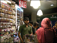 Jewellery stall owner Mohammad Arshad
