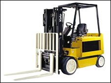 A forklift made by the company