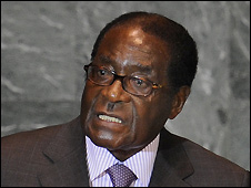 Robert Mugabe at UN General Assembly - 25/09/2008