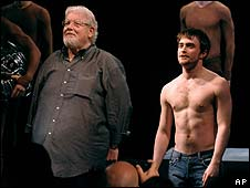 Richard Griffiths and Daniel Radcliffe