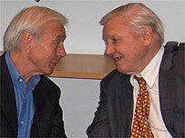 John Humphrys and Sir David