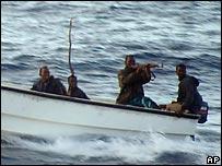 Пираты у берегов Сомали (архив)