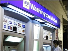 A Washington Mutual cashpoint