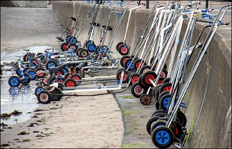 Dinghy trolleys