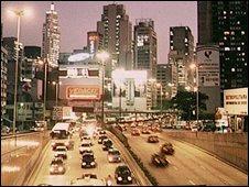 Sao Paolo traffic, file pic