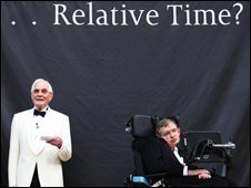 John Taylor and Stephen Hawking