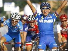 Fabio Andres Duarte of Colombia wins