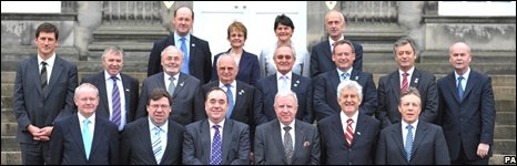 British-Irish Council delegates meet ahead of their first full meeting to be held in Scotland
