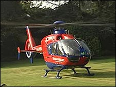 Devon's new air ambulance