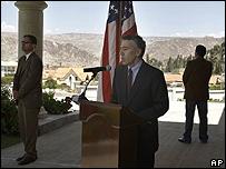 El embajador de EE.UU. en Bolivia, Philip Goldberg