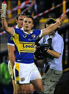 Lee Smith played a key role in the win for Leeds, scoring two tries
