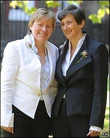 Angela Eagle and Maria Exall