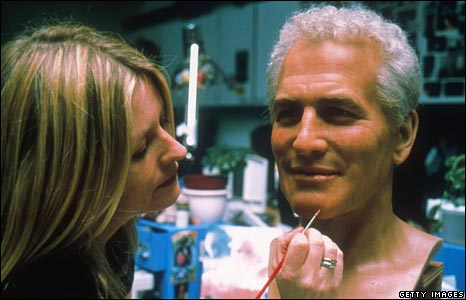 Waxwork being made at Madame Tussauds