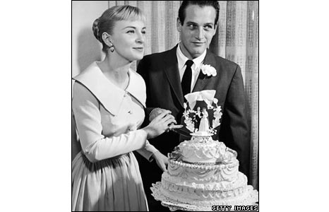 Marriage to Joanne Woodward