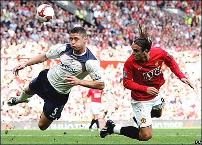 Gary Cahill, Bolton Wanderers; Dimitar Berbatov, Manchester United