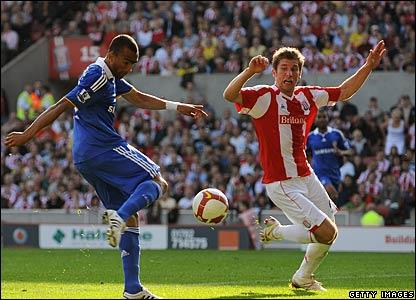 Jose Boswingwa, Chelsea; Richard Cresswell, Stoke City