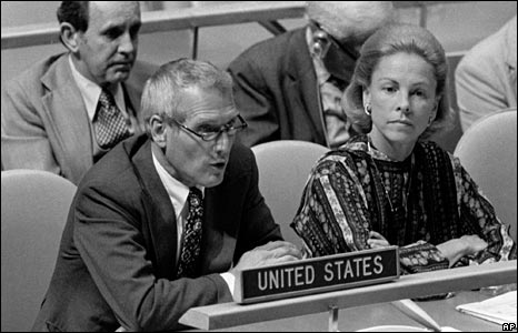 As representative of the U.S. Mission to the United Nations in 1978