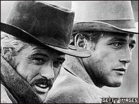 """Robert Redford y Paul Newman, en """"Butch Cassidy y el Sundance Kid"""""""