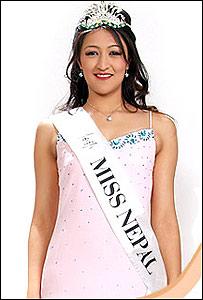 Foto promocional del consurso de Miss Nepal (Foto: missnepal.com.np)