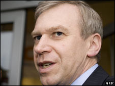 Belgian Prime Minister Yves Leterme. File photo