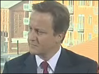David Cameron MP, Conservative Leader