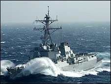 USS Howard (Picture from USS Howard website)