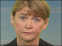 Yvette Cooper, the Chief Secretary to the Treasury