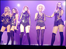 Girls Aloud in concert