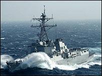 USS Howard  (Foto del sitio web del barco)