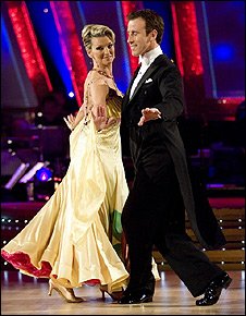 Gillian Taylforth and Anton du Beke