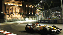 Formula One's first night race in Singapore was a huge success