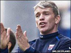 Montrose manager Jim Weir