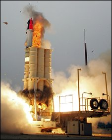 The US-Israeli Arrow missile defence system