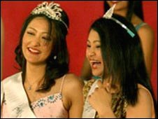 Winners of Miss Nepal 2007 contest (Pic: missnepal.com)