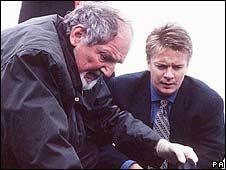 Former Taggart stars Robert Robertson and James MacPherson