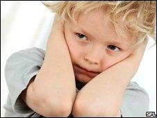 stressed boy