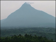 Mikeno volcano (Image: WildlifeDirect)