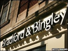 A Bradford and Bingley branch