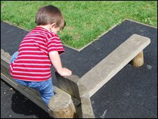 A child playing