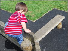 child playing