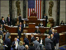 Lawmakers in the US House of Representatives