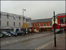Limavady town centre