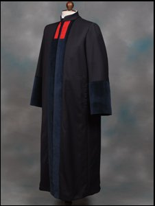 New civil court judge robe [Pic: Judiciary of England and Wales]