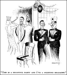 Cartoon by H W Murray, 1938