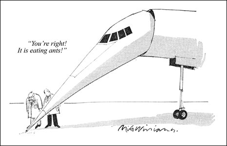 Cartoon by Mike Williams, 1969