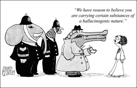 Cartoon by Ed McLachlan, 1969