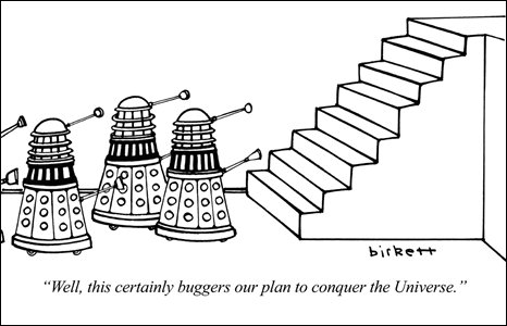 Cartoon by Peter Birkett, 1981