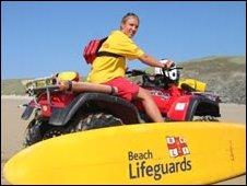 RNLI Lifeguard: Pic RNLI