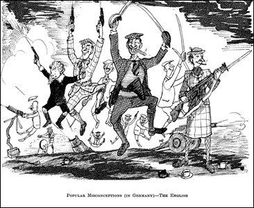 Cartoon by Pont, 1940