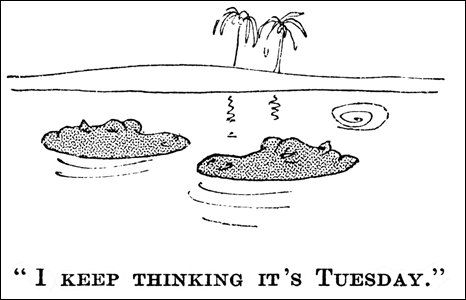 Cartoon by Paul Crum, 1937